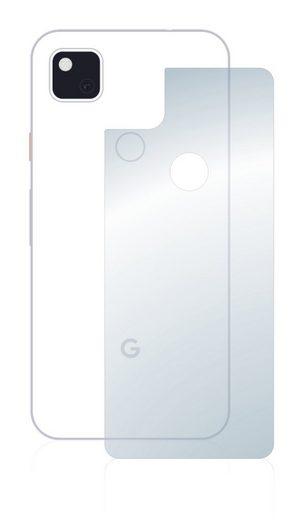 upscreen Schutzfolie »für Google Pixel 4a (Rückseite)«, Folie Schutzfolie klar antibakteriell
