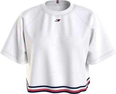 Tommy Hilfiger Sport T-Shirt »REGULAR GRAPHIC C-NK TEE SS« mit Tommy Hilfiger Sport Logo-Elastiktape am Bund & Flag