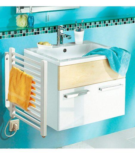 SZ METALL Elektrischer Badheizkörper, Handtuchheizkörper, klein