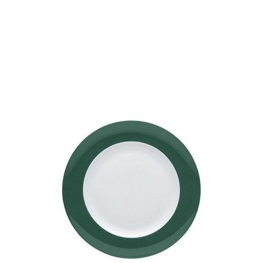 Thomas Porzellan Brotteller »Sunny Day Herbal Green Brotteller 18 cm«, (1 Stück)