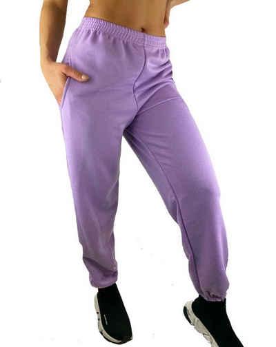 Worldclassca Jogginghose »Worldclassca Damen Jogginghose Sweathose Hose Trainingshose Sporthose Loungewear Joggers Fitnesshose Freizeithose Sweatpants Damenhose Designer Blogger 36-42«