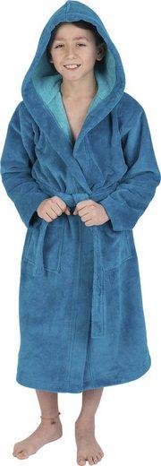 Kinderbademantel »8514«, Wewo fashion, mit kuscheliger Kapuze