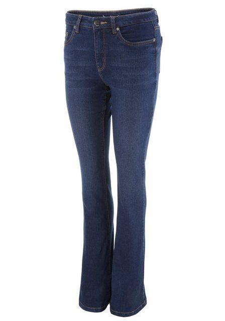 Hosen - Aniston CASUAL Bootcut Jeans regular waist ›  - Onlineshop OTTO