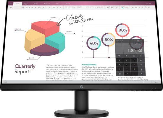 """HP P24v G4 HSD-0066-V LCD-Monitor (60,5 cm/23,8 """", 1920 x 1080 Pixel, Full HD, 5 ms Reaktionszeit, 60 Hz, IPS)"""