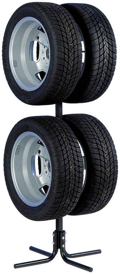UNITEC Felgenbaum, für 4 Reifen, bis 431,8 mm Reifenbreite