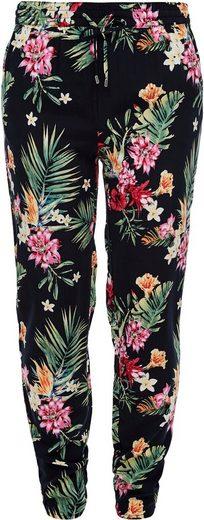 s.Oliver Culotte mit floralem Muster