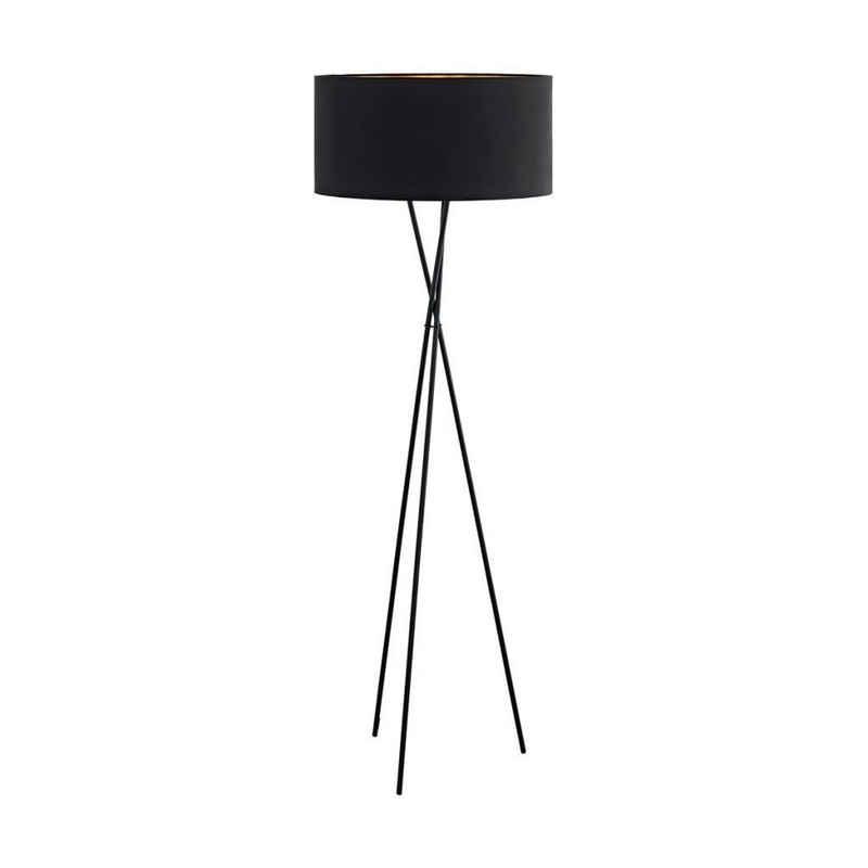 EGLO Stehlampe »EGLO Stehlampe FONDACHELLI Schwarz 95541«