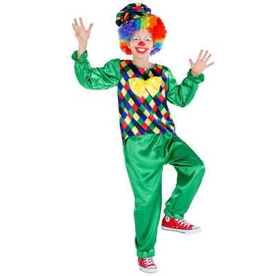 tectake Clown-Kostüm »Jungenkostüm Clown Freddy«
