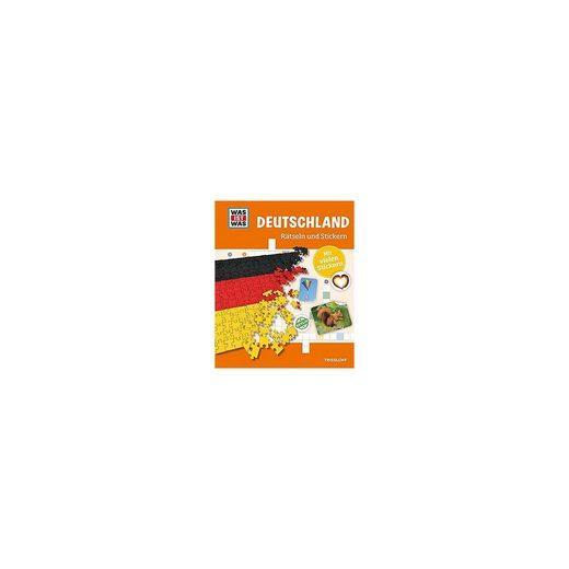 Tessloff Verlag WAS IST WAS: Deutschland, Rätseln und Stickern