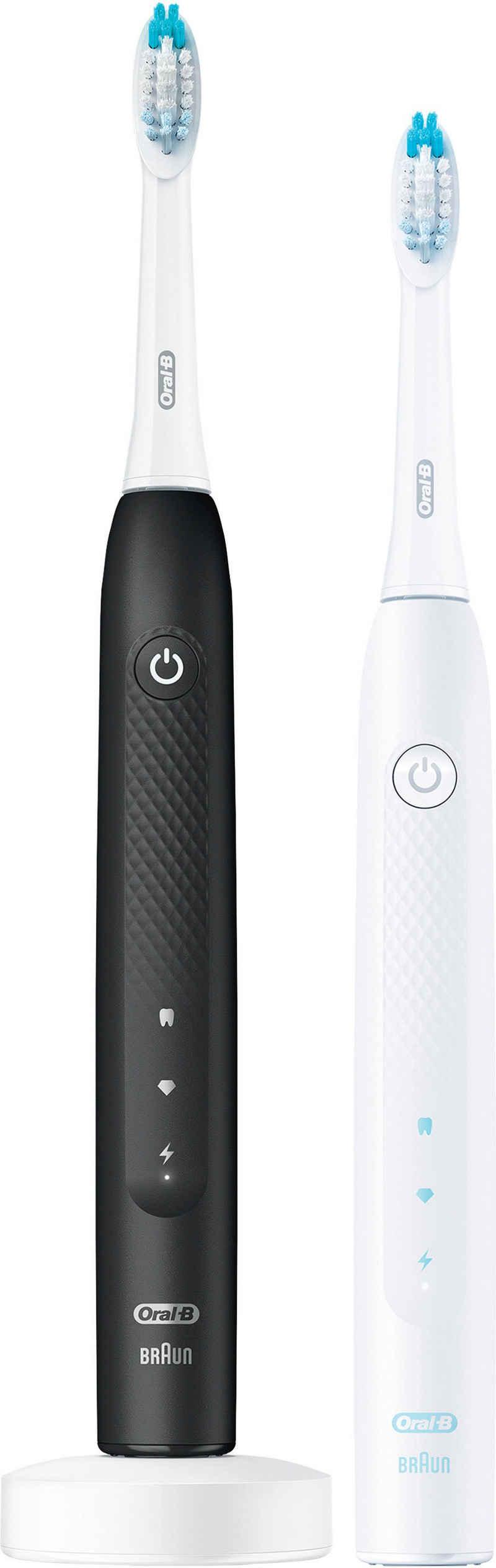 Oral B Schallzahnbürste Pulsonic Clean 2900, Aufsteckbürsten: 2 St., DOPPELPACK