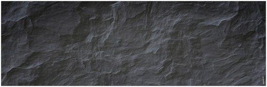 MySpotti Badrückwand »mySPOTTI aqua Schiefer«, Höhe: 45 cm