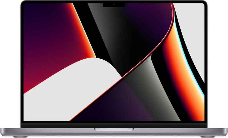 Apple MacBook Pro 14 MKGP3 Notebook (35,97 cm/14,2 Zoll, Apple M1 Pro, 512 GB SSD)