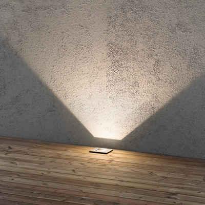 click-licht LED Einbauleuchte »Flexibler LED Bodenspot aus rostfreiem Edelstahl,«, Einbaustrahler, Einbauleuchte
