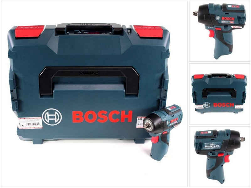Bosch Professional Akku-Schlagschrauber »Bosch GDS 12V-115 Akku Drehschlagschrauber 12V 115 Nm Solo + L-Boxx (06019E0102) - ohne Akku, ohne Ladegerät«