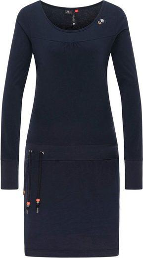 Ragwear Jerseykleid »PENELOPE B« mit kontrasatfarbigen Zierperlen
