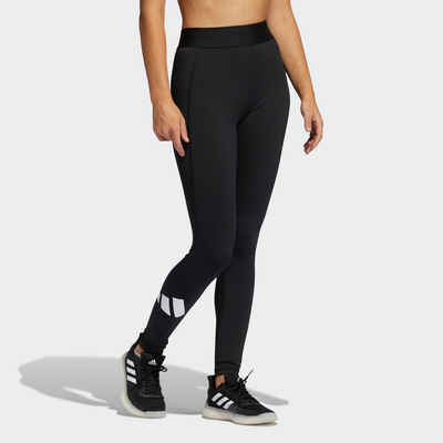 adidas Performance Funktionstights »TECHFIT LIFE MID-RISE BADGE OF SPORT LANGE«