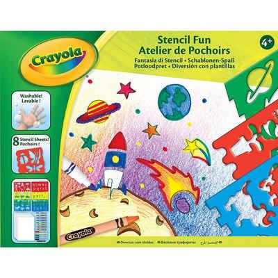 Crayola® Malvorlage »Schablonen-Spaß«