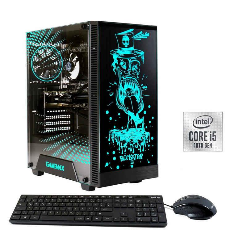 Hyrican Rockstar 6734 Gaming-PC (Intel Core i5 10400F, RTX 3060, 16 GB RAM, 960 GB SSD, Luftkühlung, Windows 11)