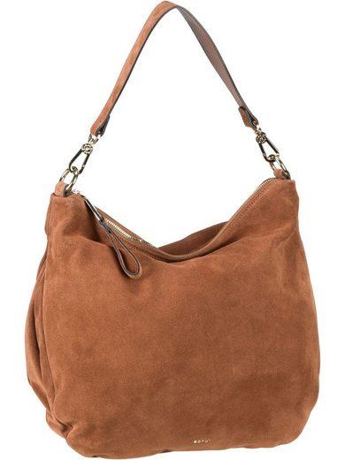 Abro Handtasche »Erna Suede 29296«, Beuteltasche / Hobo Bag