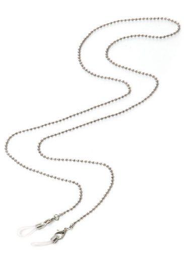 J.Jayz Brillenkette »in Kugelkettengliederung, rhodiniert«