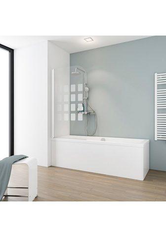 Schulte Badewannenaufsatz »Floral« Sicherheits...