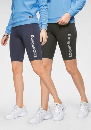 KangaROOS Radlerhose (2-tlg) perfekt kombinierbar mit Kleidern und Röcken