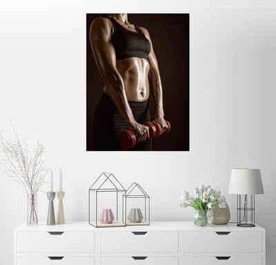 Posterlounge Wandbild, Workout