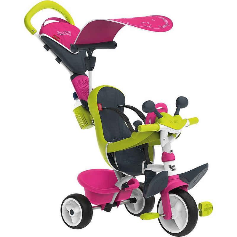 Smoby Dreirad »Dreirad Baby Driver Komfort, rosa«