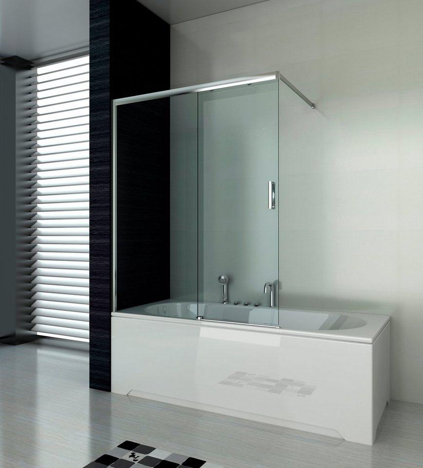 Badewannenaufsatz »ELITE«, Badewannenaufsatz mit Schiebetür online kaufen |  OTTO