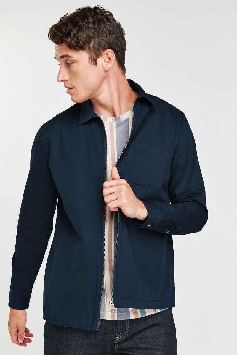 Next Outdoorhemd »Hemdjacke mit Reißverschluss« (1-tlg)