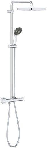 Grohe Duschsystem »Vitalio Start 250 Duschsystem THM«, Höhe 113 cm, 2 Strahlart(en), Set, mit Thermostatbatterie für die Wandmontage