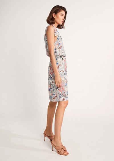 Comma Minikleid »Kurzes Kleid mit Knotendetail« Knoten