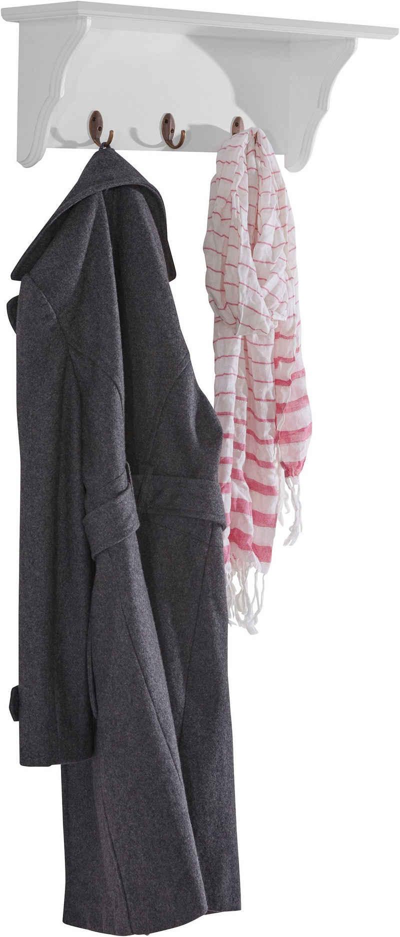 Home affaire Garderobenleiste, mit 3 Kleiderhaken