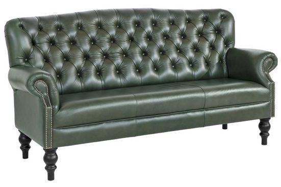 Sofa im klassisch englischen Club-Stil im klassisch englischen Club-Stil
