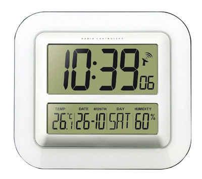 technoline Funkwanduhr »WS 8006« (mit Temperatur- und Luftfeuchteanzeige)