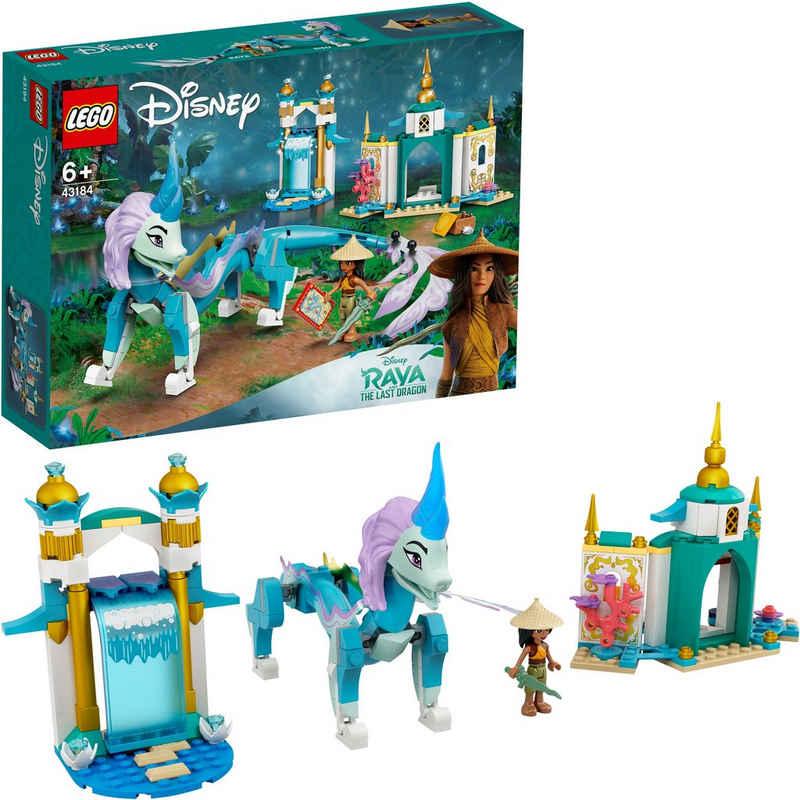 LEGO® Konstruktionsspielsteine »Raya und der Sisu Drache (43184), LEGO® Disney Princess™«, (216 St), Made in Europe