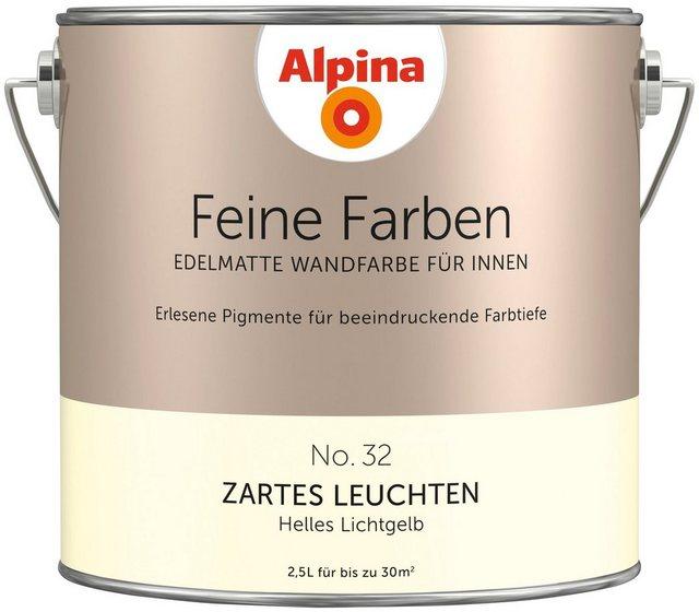 Alpina Feine Farben Zartes Leuchten, gelb