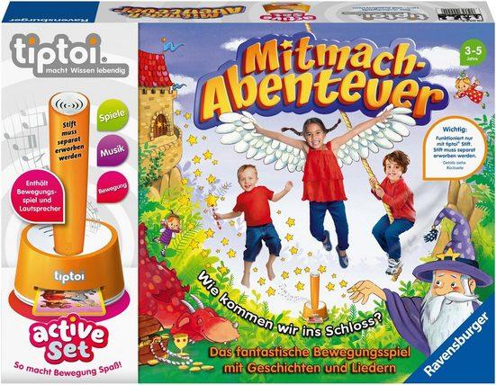 Ravensburger Spiel, »tiptoi® active, Mitmach-Abenteuer«, Made in Europe, FSC® - schützt Wald - weltweit