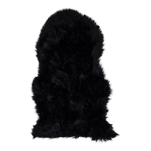Babylammfell »Laila Lammfell imitiert 50x85 cm schwarz.«, ebuy24