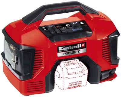 Einhell Kompressor »Pressito«, 90 W, max. 11 bar, 20 l, Power X-Change, inkl. Adapter-Set, ohne Akku & Ladegerät