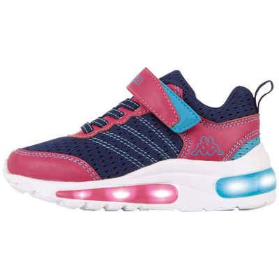 Kappa »TULANI K« Sneaker mit tollen Lichteffekten in der Sohle