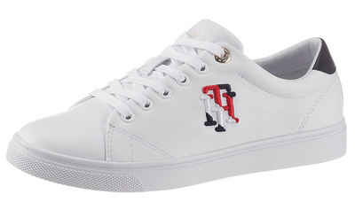 Tommy Hilfiger »TOMMY MONOGRAM CASUAL SNEAKER« Sneaker mit farbiger TH-Stickerei