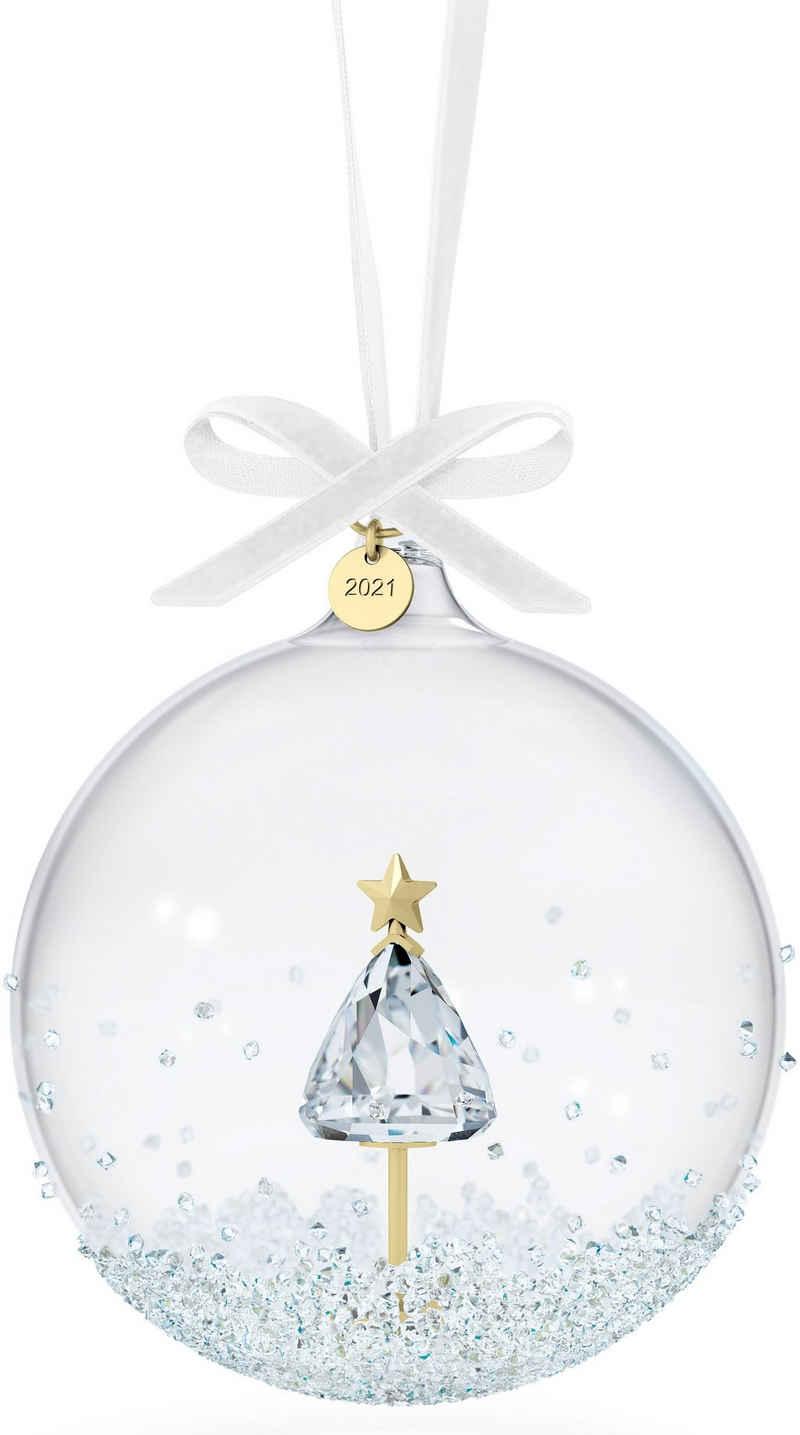 Swarovski Weihnachtsfigur »Annual Edition 2021 Weihnachtskugel, 5596399« (1 Stück), Swarovski® Kristall