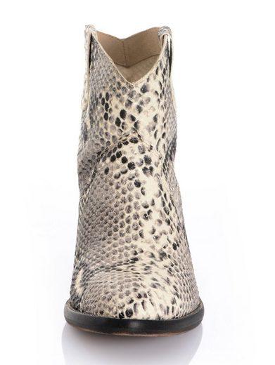 Alba Moda Stiefelette aus aufgerauhtem Rindsleder