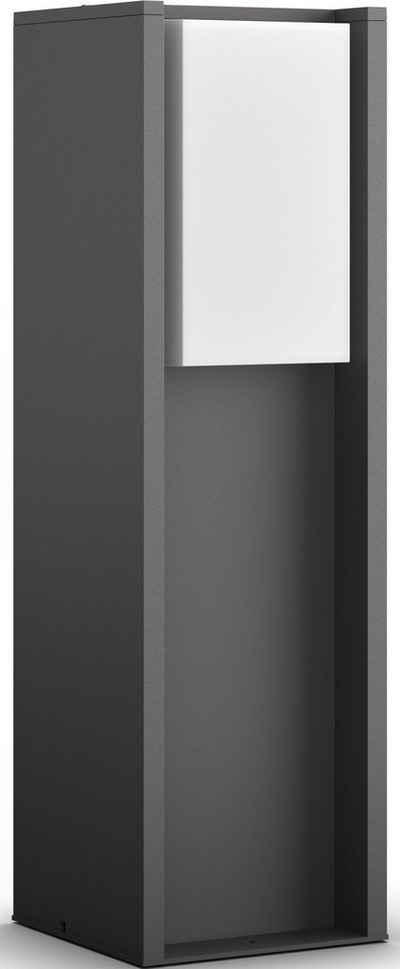 Philips Hue LED Sockelleuchte »Turaco«, LED Außenleuchte- smartes LED-Lichtsystem mit App-Steuerung