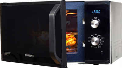 Samsung Mikrowelle MG23K3614AK/EG, Grill, Mikrowelle, 23 l