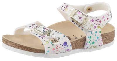 Birkenstock »Rio Inspired Confetti« Sandale mit verstellbaren Schnallen, schmale Schuhweite