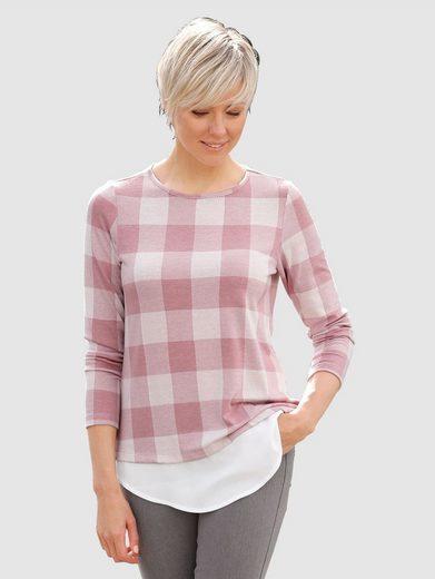 Laura Kent Shirt mit Bluseneinsatz