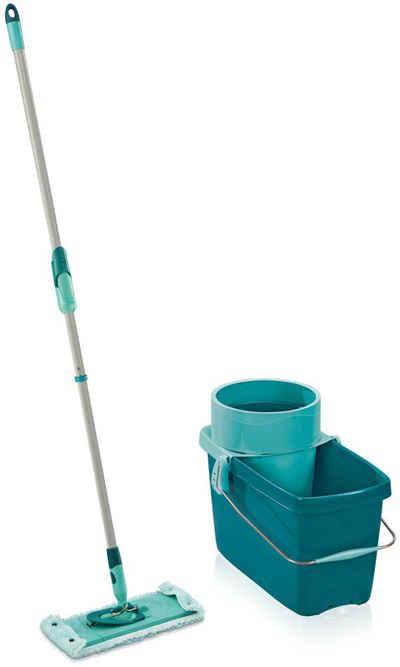 Leifheit Bodenwischer-Set »CLEAN TWIST M super soft«, inkl. Eimer) für Parkett und Laminat