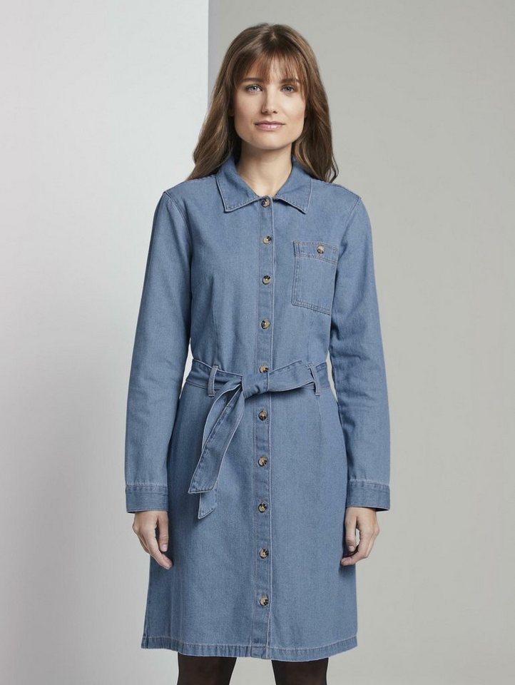 tom tailor denim -  Jeanskleid »Mini Jeanskleid«